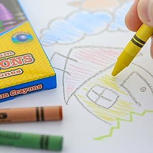 lifestyle crayon art