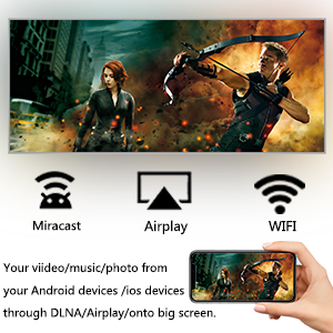 Airplay DLAN tv box