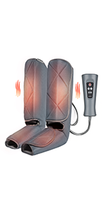 calf and foot massager with heat