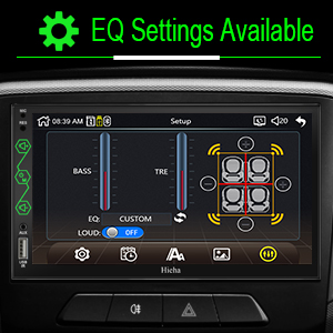 car stereo equalizer settings