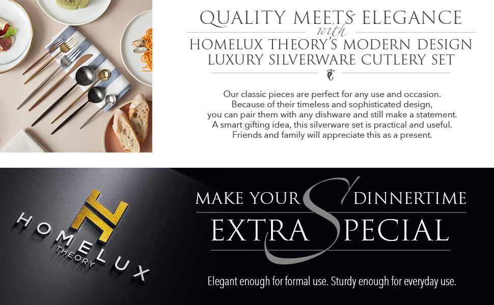 perfect timeless sophisticated design dishware smart gifting silverware set practical useful present