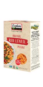 Red Lentil Penne
