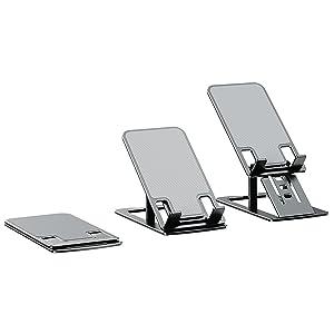 tripod stream deck mini tripod mount extender hospital bed table finger  back  kickstand Mobile