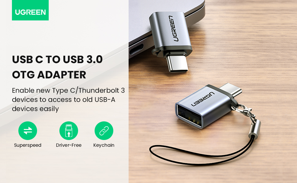 USB C to USB 3.0 OTG Adapter