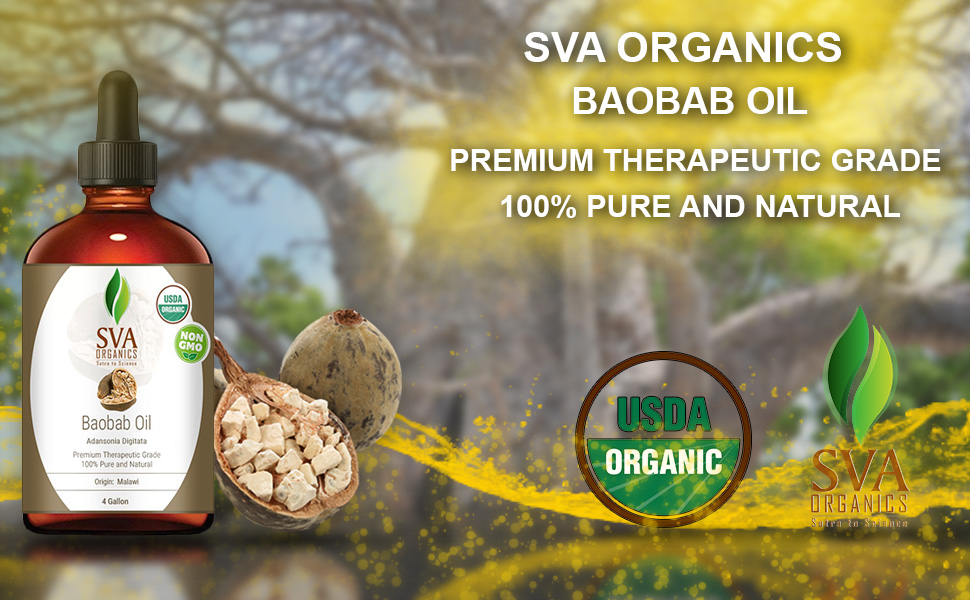 baobab oil for skin care hair care aromatherapy