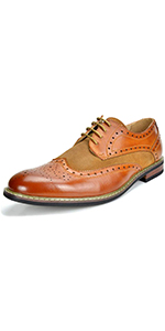 Men's Dress Shoes Wingtip Oxford
