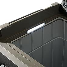Portable fridge - Interior LED Light - Keto Diet Motivation