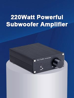 Amazon.com: Subwoofer Amplifier TDA7498E Mini Sub Bass Amp Digital ...