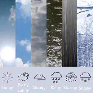 6 Modes Weather Forecast