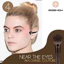 Makeup Brush Set 18Pcs Premium Synthetic Foundation Powder Concealers Eye shadows Blush Makeup Brush