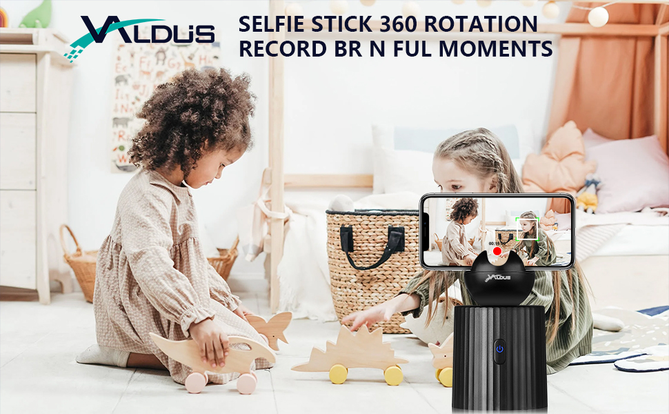 Valdus 360° face tracking holder