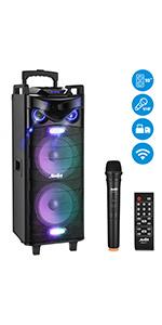 Moukey 1040W Karaoke Machine PA System