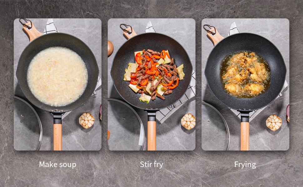 induction woks
