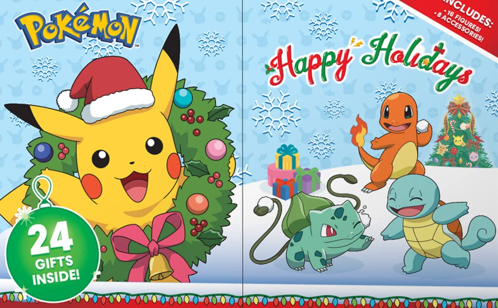Pokemon advent calendar 2020 kid holiday christmas figure character Nintendo sword shield gift boy