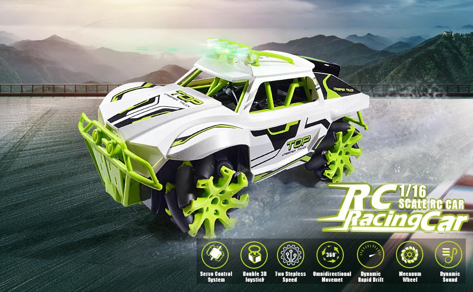 Dual Speed Off-road RC Car