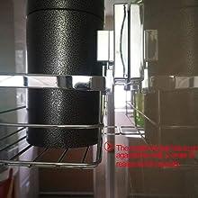吸盤ラック 真空吸盤 キッチンラック 浴室ラック