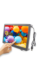 10.1 inch 1080p touchscreen