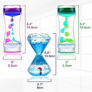 Liquid timer motion