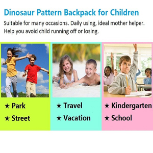 Toddler backpack with leash, more safety for your lovely little one.