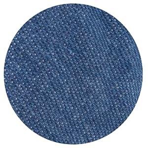 blue denim head band