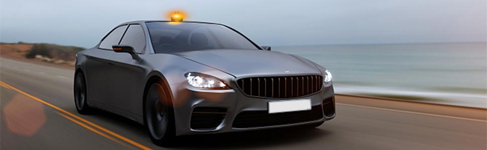 Anzid luz de advertencia de emergencia multifuncional para automóviles