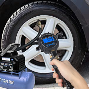 Tire Inflator Gauge