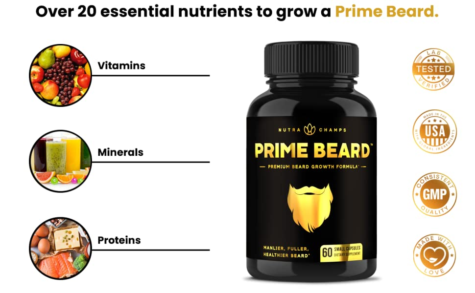 beard growth supplement for men