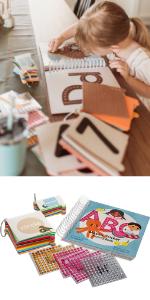 Mosaic ABC Sticker Activity Book