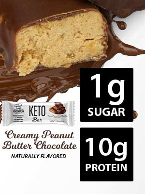 genius gourmet keto protein bars low carb and low sugar for keto diet quest the perfect keto snack