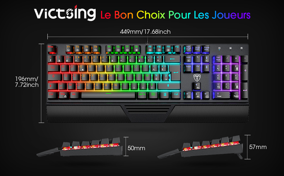 clavier gaming pour pc