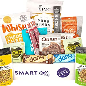 SmartBox by Edge Keto Snack Package