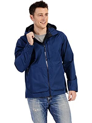 mens rain jacket coat waterproof windbreaker lightweight