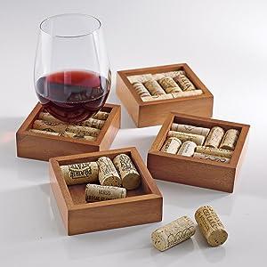 wine coasters, beverage coasters, coasters
