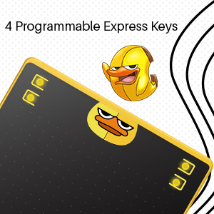 4 press keys