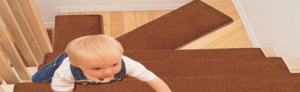 Soft Warm Comfortable Carpet Stair Treads