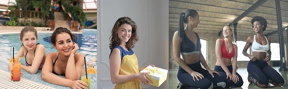 EKARIAN Copa menstrual | Juego de 2 copas menstruales (S y L) | Copa menstrual reutilizable | Incluye bolsa y botella de lavado para la limpieza | ...