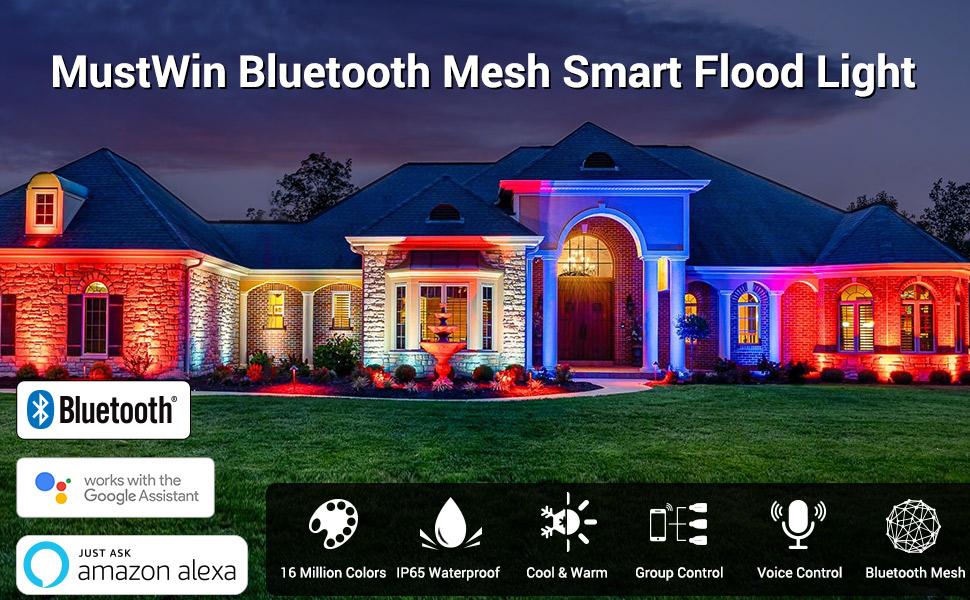 MustWin Bluetooth Mesh Smart Flood Light