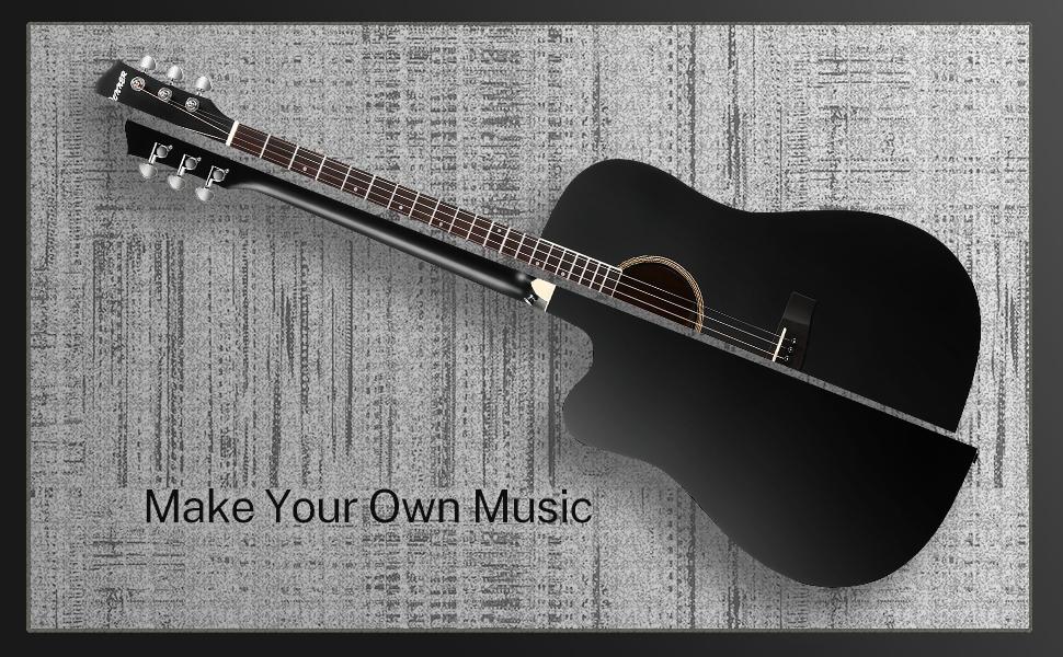 acoustic guitar bundle set