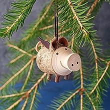 Christmas ornaments Christmas tree ornaments Fun Christmas ornaments Wood Christmas tree ornaments