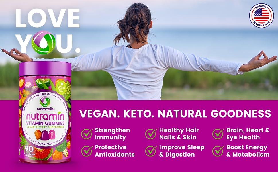 gummies sugar-free soy-free multivitamin vitamin minerals healthy gum drops