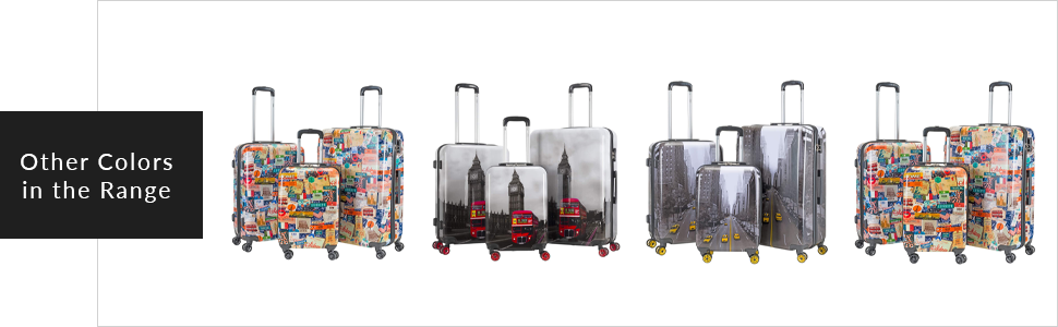 suitcase with 8 wheels