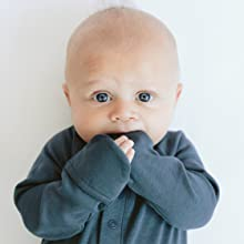 baby gown with built-in mitts