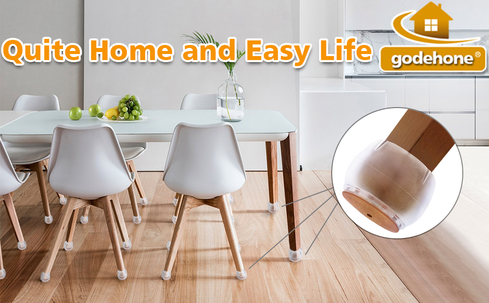 Lid Earpiece Foot Chair Table Furniture 2pcs 32 MM
