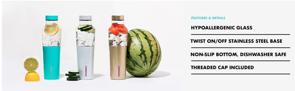 corkcicle hybrid canteen water bottle