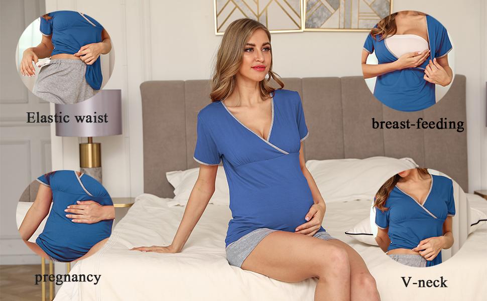 Sleepwear for Breastfeeding