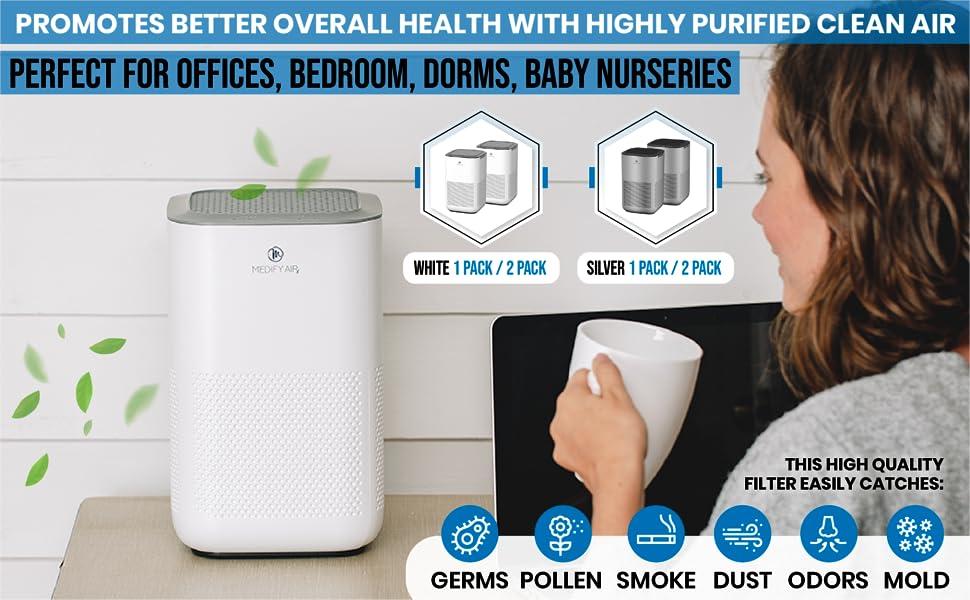 air purifier office, bedroom air purifier, dorm air purifier, baby air purifier