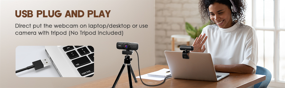 usb plug and play webcam