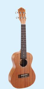 Concert Ukulele Ranch Mahogany Solid Top Ukuleles 23 inch ukelele ukalalee ukeleles uke beginner
