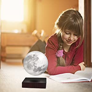 lampe de lune en lévitation levimoon flottante lune lumière lampe de lévitation en globe lampe de