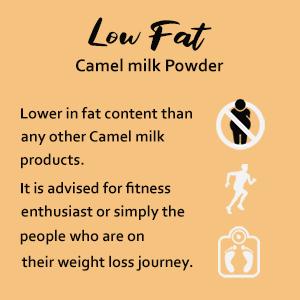 Low Fat Camel Milk